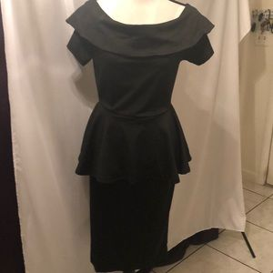 Pretty Black Dress for Parties